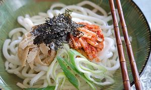 Mỳ udon kim chi