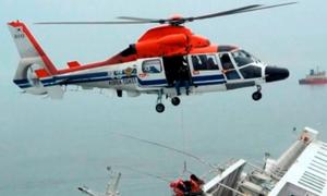Học sinh an ủi nhau trên phà Sewol khi thấy trực thăng
