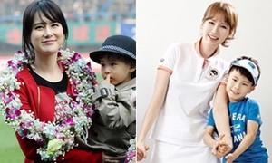 Bà xã Ahn Jung Hwan trẻ đẹp vượt thời gian
