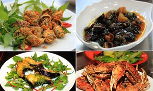 Những món hải sản mê hoặc dân Sài Gòn
