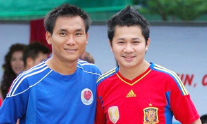 Tình bạn đẹp của hậu vệ Huỳnh Phú và ca sĩ Lâm Vũ