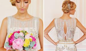 Váy cưới cảm hứng thời đại Great Gastby