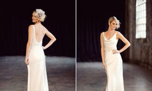 Cô dâu tinh tế với váy cưới tối giản