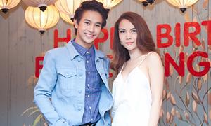 Yến Trang mừng sinh nhật hot boy Thái Lan