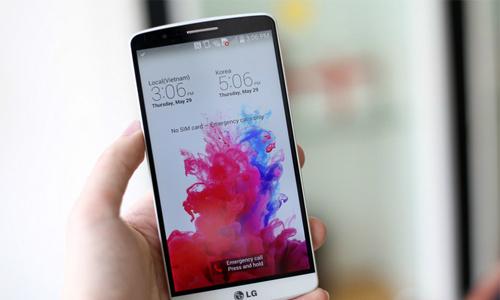 Ba mẫu LG G3 đầu tiên về Việt Nam