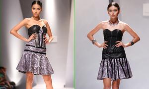Dàn mẫu gợi cảm với váy ngắn