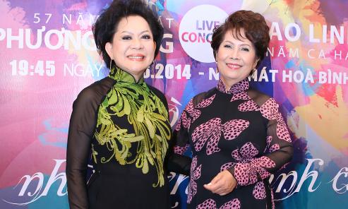 Giao Linh, Phương Dung lần đầu làm liveshow