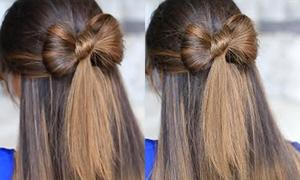 Tóc nơ xinh xắn dễ thực hiện