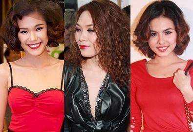 Sao Việt bị già vì chọn sai kiểu tóc