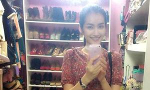 Những tủ giày hoành tráng của sao Việt