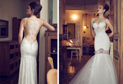 Váy cưới táo bạo, gợi cảm và tinh tế