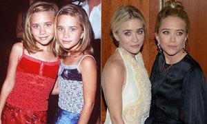 Chị em song sinh nhà Olsen đổi thay qua năm tháng