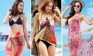 Những cách quấn khăn sarong quyến rũ đi biển