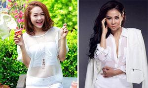 Sao Việt đồng loạt lăng-xê xu hướng white-on-white
