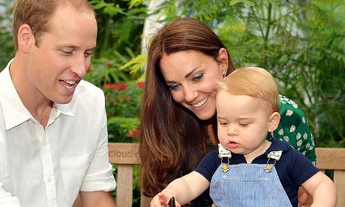 Hoàng tử bé nước Anh tròn một tuổi