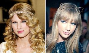 3 style phụ kiện tóc ngọt ngào của Taylor Swift