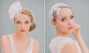 Phụ kiện tóc cho cô dâu nữ tính, dịu dàng