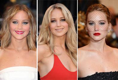 Jennifer Lawrence - Nữ hoàng trang điểm thảm đỏ