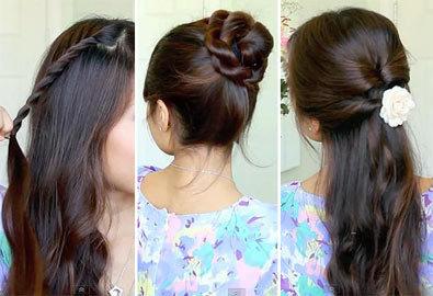 4 kiểu tóc xoắn nhanh gọn làm điệu mỗi ngày