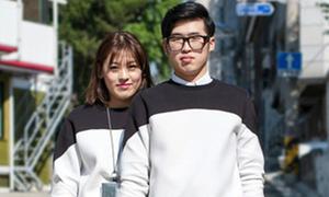 Streetstyle đồ đôi đáng ngắm của các couple Hàn