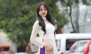 Vòng sơ khảo 'Nữ sinh Việt Nam duyên dáng' tại Hà Nội