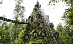 Khách sạn 'núi lửa' độc đáo ở Chile