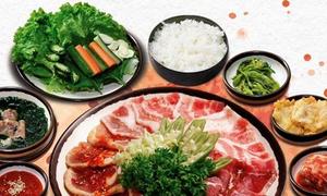 Món nướng Hàn Quốc tại King BBQ Buffet