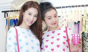 Diễm My 9X, Phương Trinh Jolie mặc đồ như chị em