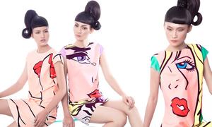 Công Trí gây ấn tượng với phong cách pop art