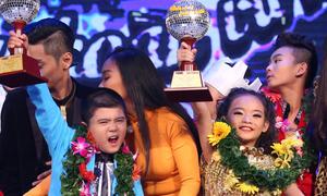 Linh Hoa đăng quang quán quân Bước nhảy Hoàn vũ nhí