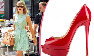 Soi giày đẹp của Taylor Swift