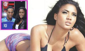 Hoa hậu Angola khước từ Ronaldinho