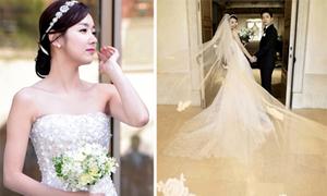 So Yi Hyun và gu thời trang ngày cưới tinh tế