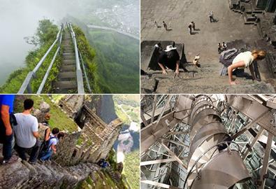 Những bậc thang đáng sợ nhất thế giới