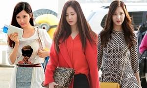 Style sân bay quyến rũ của mỹ nữ Hàn Seohyun