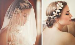 Voan cưới và phụ kiện tóc vintage tuyệt đẹp
