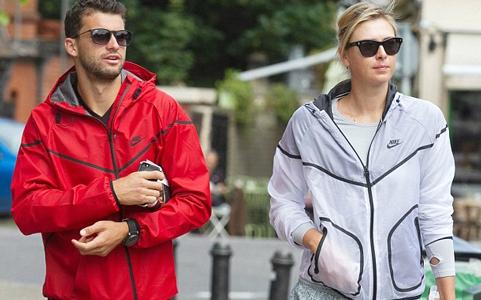Sharapova sợ nha sĩ và nhện, Dimitrov mê mệt kem