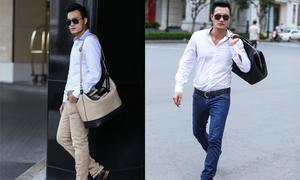 Quang Thịnh gợi ý chọn túi xách đẹp cho phái mạnh