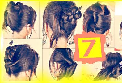 7 kiểu tóc cực nhanh chỉ với 1 chiếc bút chì