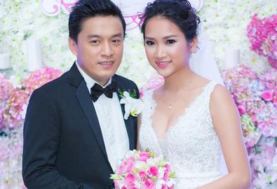 Lam Trường - Yến Phương hạnh phúc trong tiệc cưới