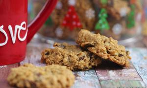 Khéo tay làm bánh quy yến mạch