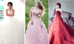 Top 10 váy cưới Việt nổi bật tháng 11