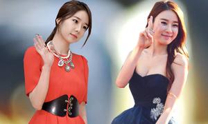 Váy áo nữ tính của Yoo In Na