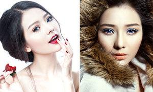 Khánh Hiền gợi ý 2 kiểu make-up đối lập cho mùa đông