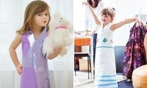 Thiên thần nhí 4 tuổi 'bắt tay' hãng thời trang cao cấp