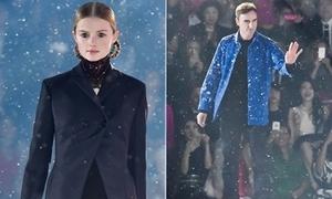 Tuyết rơi trong show Dior ở Tokyo