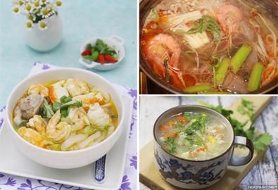 6 món hải sản hợp xì xụp khi trời lạnh