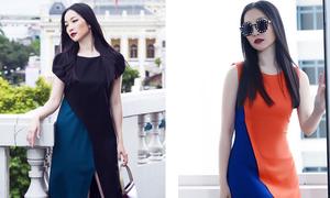 Linh Nga thanh lịch với thời trang thu đông