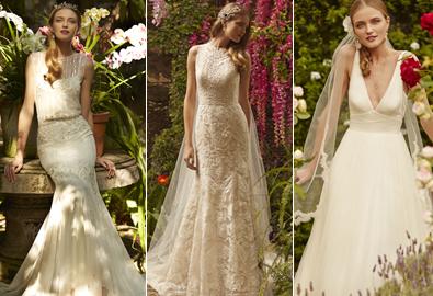 Váy cưới nhẹ nhàng, tinh tế cho mùa xuân