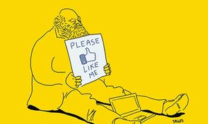 Bộ tranh 'Sự thật về cuộc sống hiện đại' đáng suy ngẫm